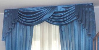 Tendaggi Classici su misura - Confezionamento e installazione