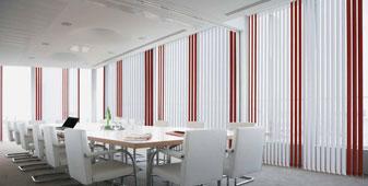 Tende tecniche verticali per l'ufficio e per la casa - Produzione, installazione, pulizia e manutenzione
