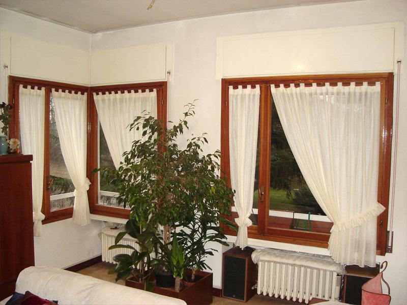 Tendine a vetro tendaggi parini tende su misura - Tende per porta finestra scorrevole ...